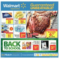 - Supercentre - Back to School Flyer