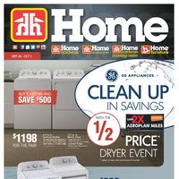 Home Hardware - Home - GE Appliances Clean Up In Savings Flyer