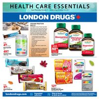 London Drugs - Health Care Essentials Flyer