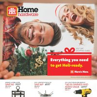 Home Hardware - 2017 Gift Shopping Guide Flyer