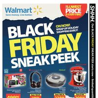 Walmart - Black Friday 2017 Canada Sneak Peek Flyer