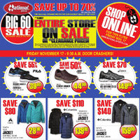 National Sports - Big 60 Sale #2 Flyer
