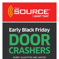 The Source - Black Friday Sale Flyer
