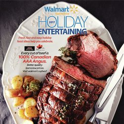 Walmart - 2017 Holiday Entertaining Flyer