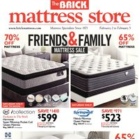 - Mattress Store - Friends & Family Mattress Sale Flyer