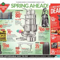 Canadian Tire - Weekly - Spring Ahead! Flyer