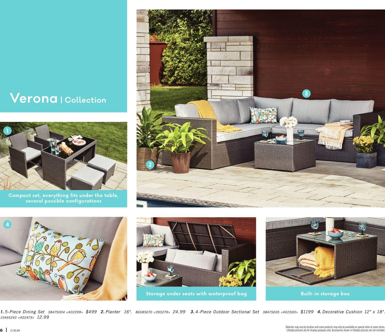 Rona Weekly Flyer Enjoy Your Backyard Mar 22 Apr 25