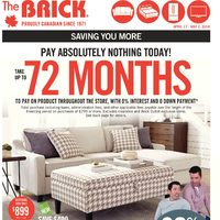 The Brick - Spring Home Event Flyer
