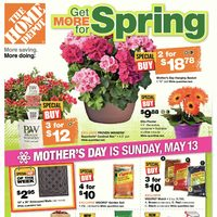 Home Depot - Weekly - Get More For Spring Flyer