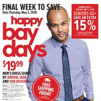 The Bay - Final Week to Save - Happy Bay Days Flyer