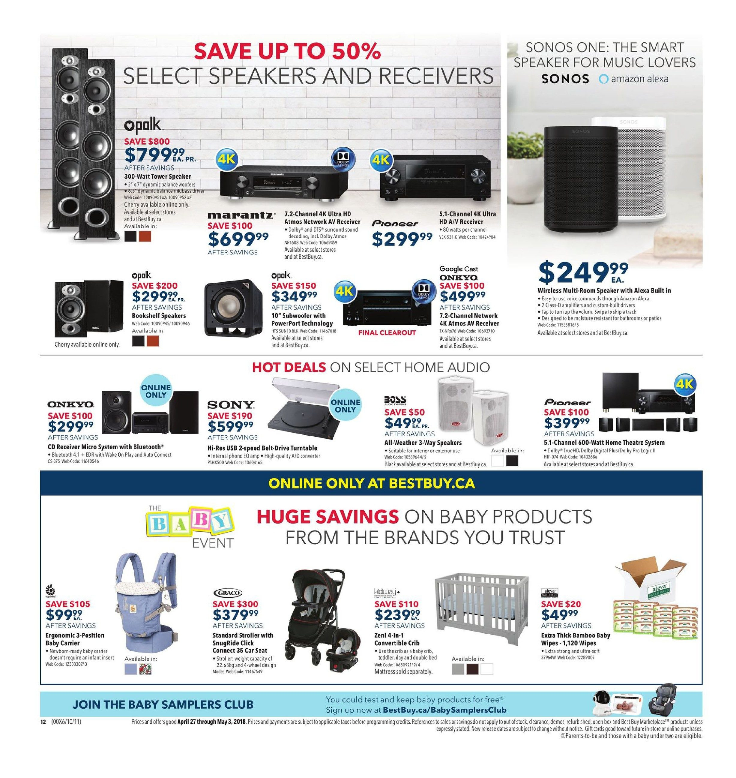 Best Buy Weekly Flyer - Weekly - Surf Amazing Deals - Apr 27 – May 3