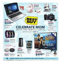 Best Buy - Weekly - Celebrate Mom Flyer