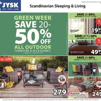 JYSK - Weekly - Green Week Flyer