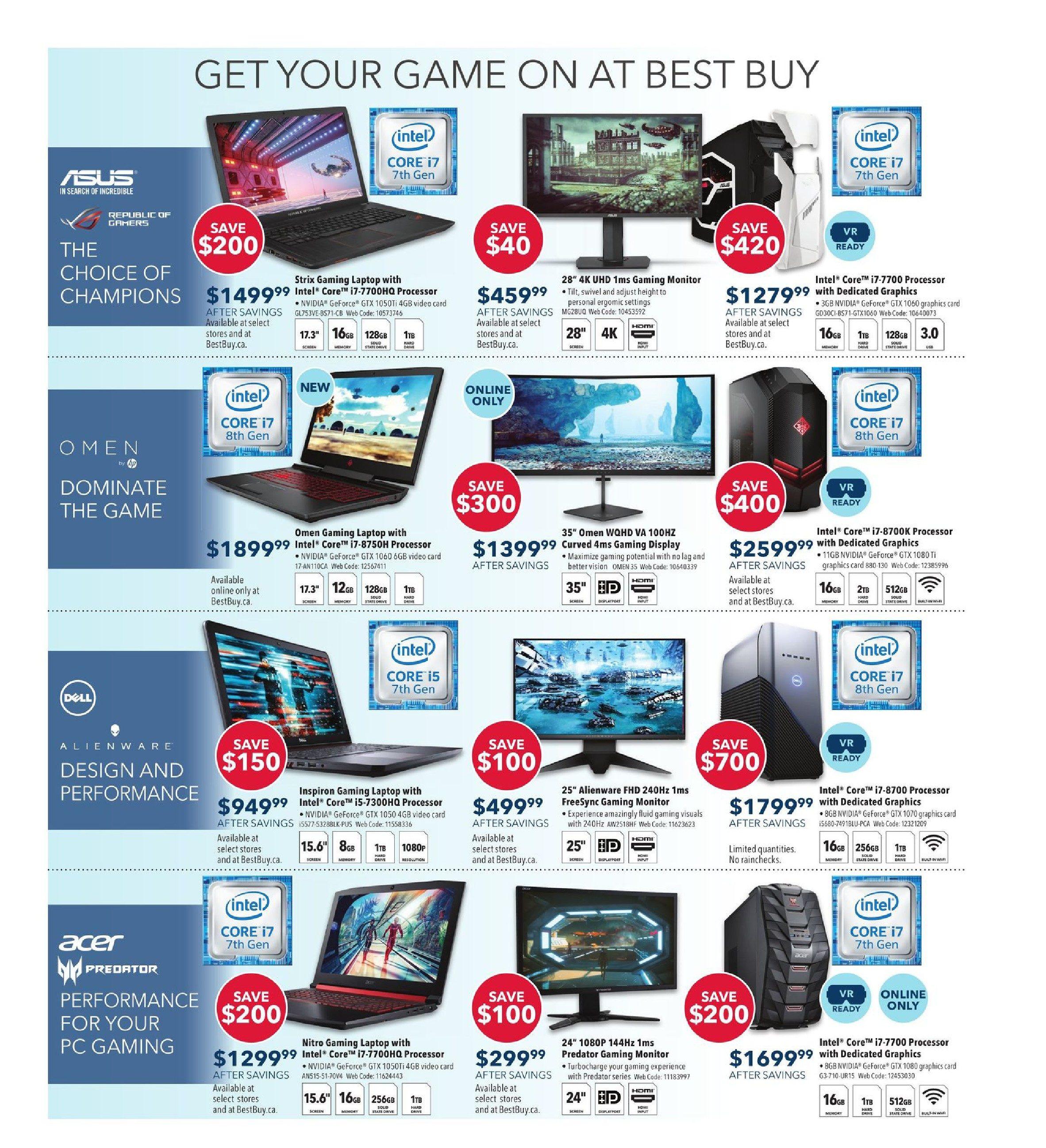 Best Buy Weekly Flyer - Weekly - Boxing Day In July Sale - Jun 29