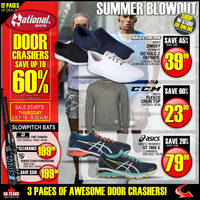 National Sports - Summer Blowout Sale Flyer