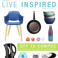 Home Outfitters - Live Inspired - Off To Campus Flyer