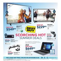Best Buy - Weekly - Scorching Hot Summer Deals Flyer