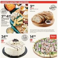 Longos - Monthly Selections & Baby Days Flyer