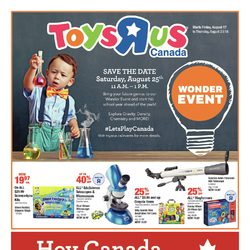 Toys R Us - Weekly - Wonder Event Flyer