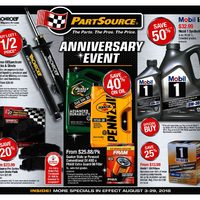 PartSource - Anniversary Event Flyer