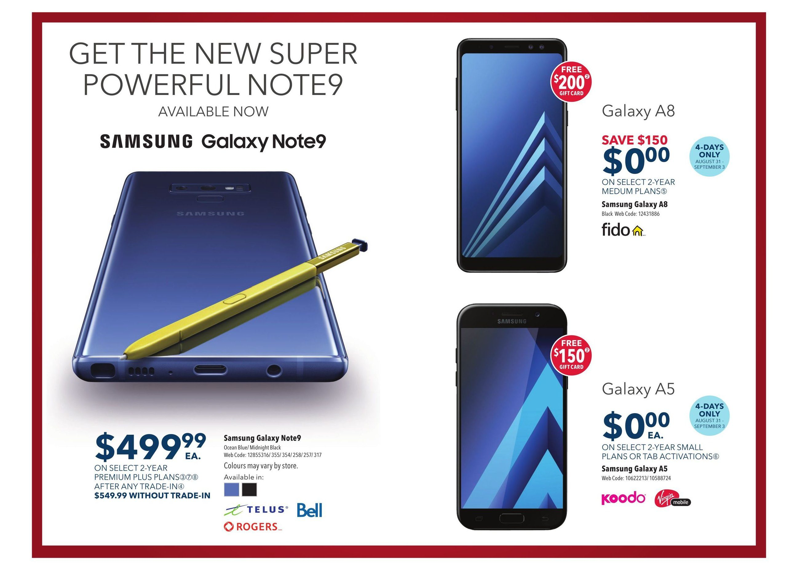 Best Buy Weekly Flyer - Weekly - Labour Day Sale - Aug 31