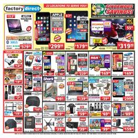 Factory Direct - 2 Weeks of Savings - Ginormous Savings! Flyer