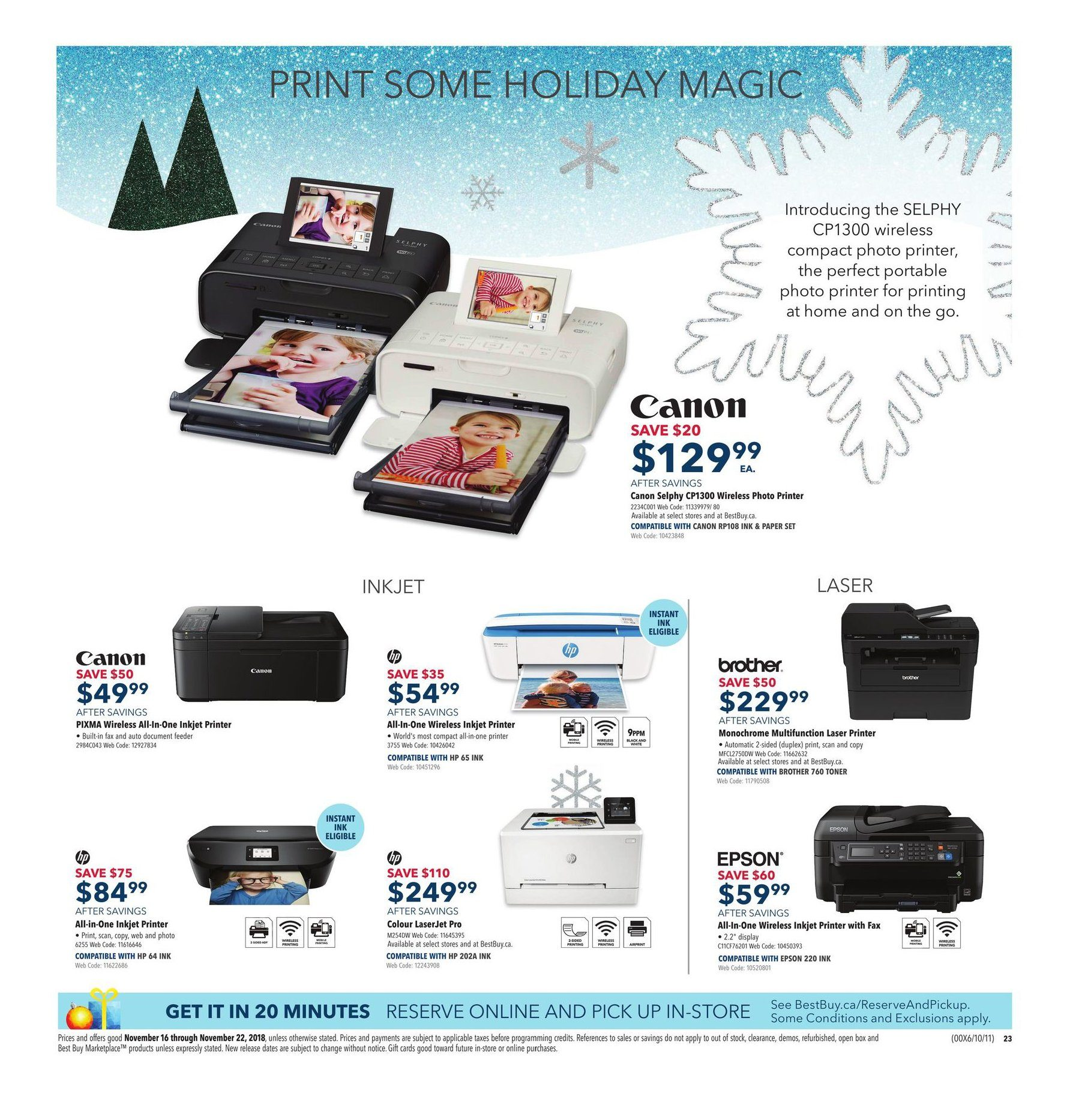 Best Buy Weekly Flyer - Weekly - Black Friday Prices Now - Nov 16