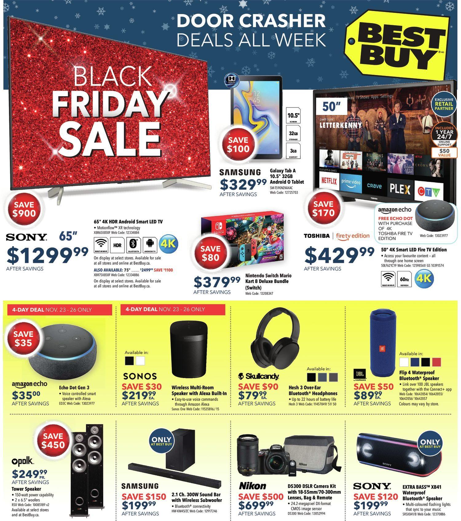 3661b51372 Best Buy Weekly Flyer - Weekly - Black Friday Sale - Nov 23 – 29 -  RedFlagDeals.com