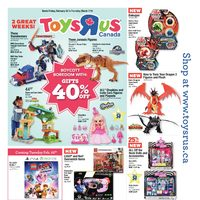Toys R Us - 2 Great Weeks! Flyer