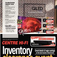 Centre HIFI - Weekly - Inventory Clearance Event Flyer