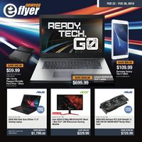 Newegg - Ready, Tech, Go Flyer