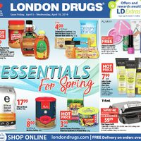 - 6 Days of Savings - Essentials For Spring Flyer