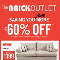- Outlet - Savings You Even More Flyer