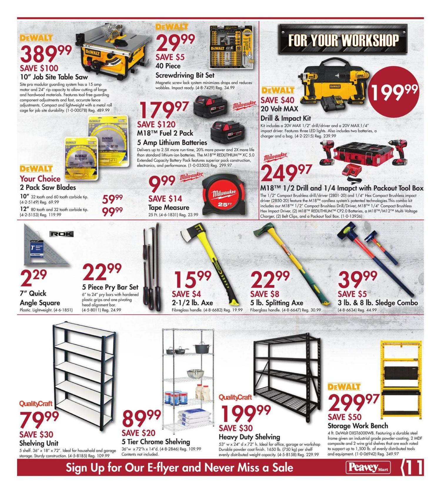 PeaveyMart Weekly Flyer - Lawn & Garden Sale - May 10 – 16