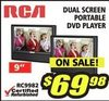 RCA Dual Screen Portable DVD Player