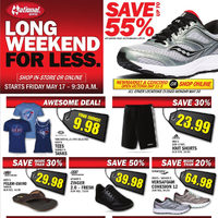 National Sports - Long Weekend For Less Flyer