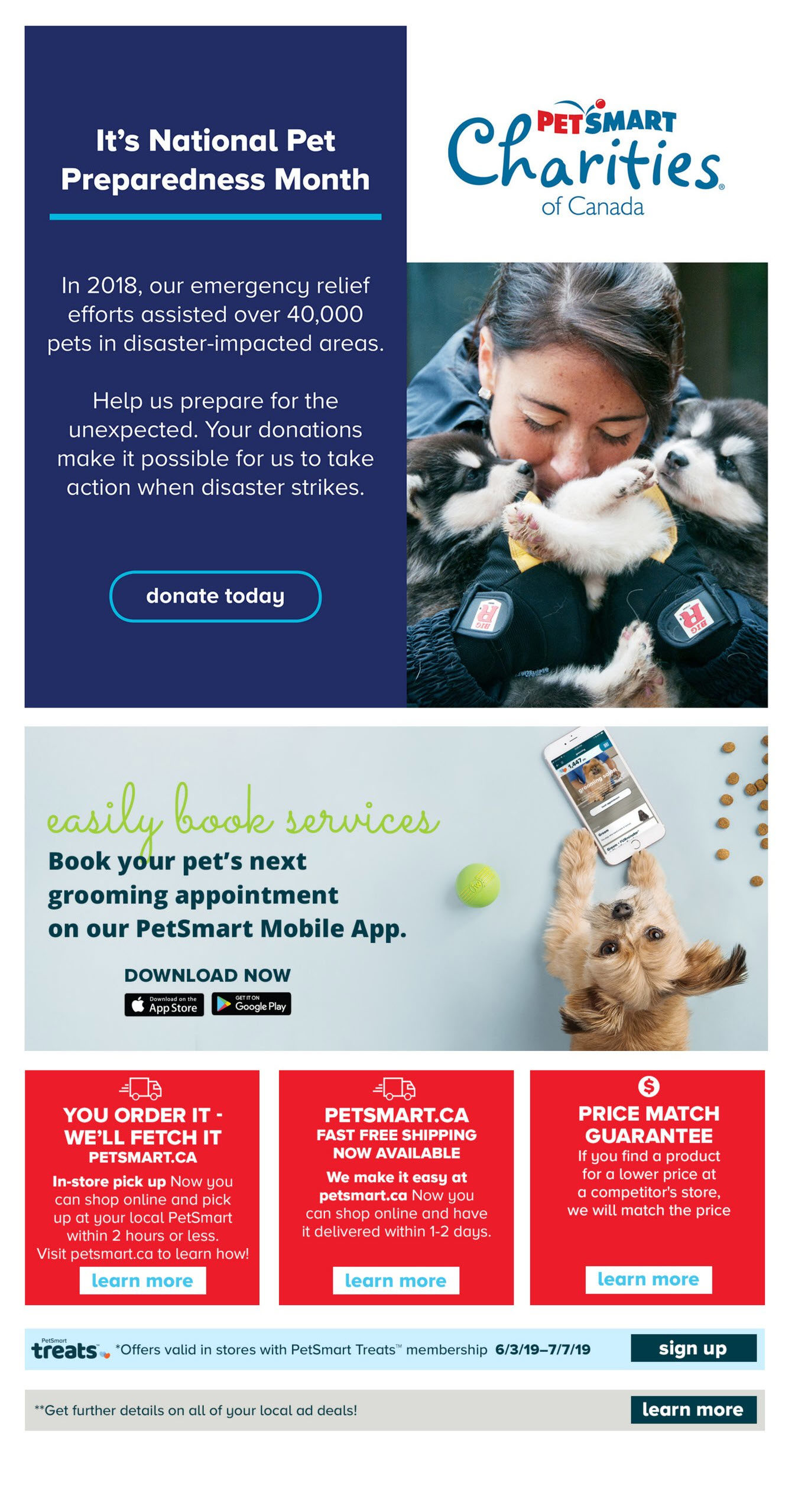 PetSmart Weekly Flyer - For The Love of Pets - Big Brands