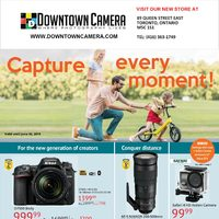 Downtown Camera - Capture Every Moment! Flyer