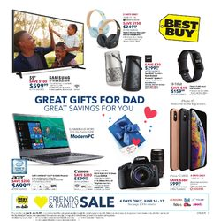 Best Buy - Weekly - Great Gifts for Dad Flyer