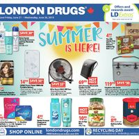 London Drugs - 6 Days of Savings - Summer is Here! Flyer