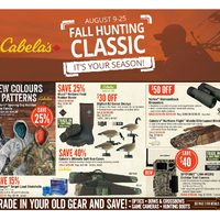 Cabelas - Fall Hunting Classic Flyer