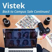 Vistek - Back To Campus Sale Continues! Flyer