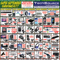 Tech Source - Super September Savings!! Flyer