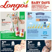 Longos - Baby Days Flyer