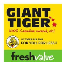 Giant Tiger - Weekly - Our Thanks, Your Deals Flyer