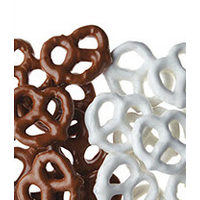 Covered Pretzels Milk Chocolate, Dark Chocolate or Yogurt