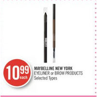 Maybelline New York Eyeliner Or Brow Products