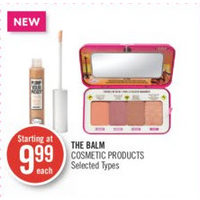 The Balm Cosmetic Products