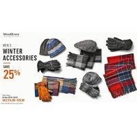 Windriver Men's Winter Accessories