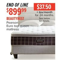 Beautyrest Pearson Euro Top Queen Mattress